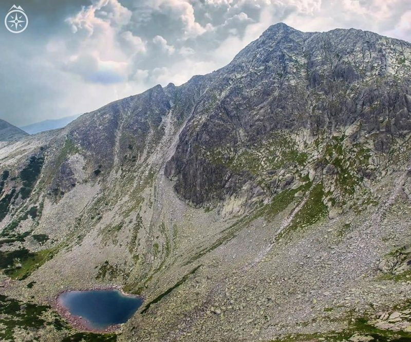 Lacul Stevia Munții Retezat