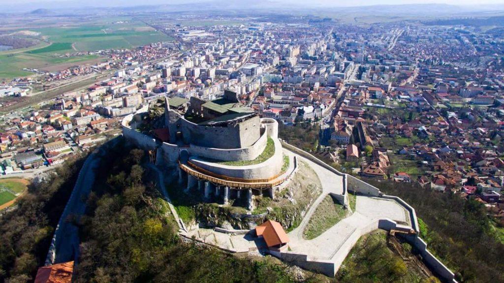 Cetatea Devei judetul Hunedoara