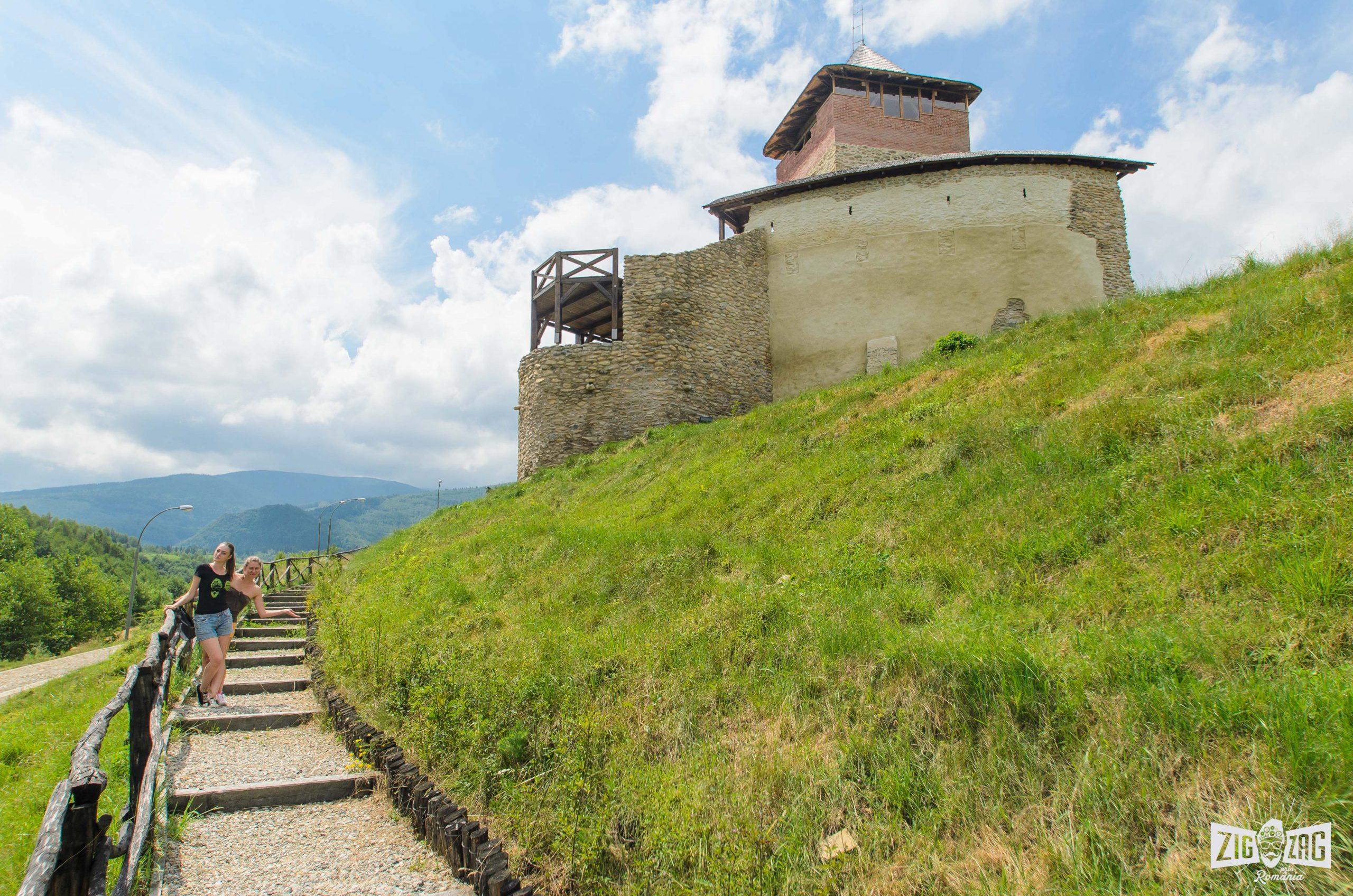 Cetatea Mălăieşti judeţul Hunedoara