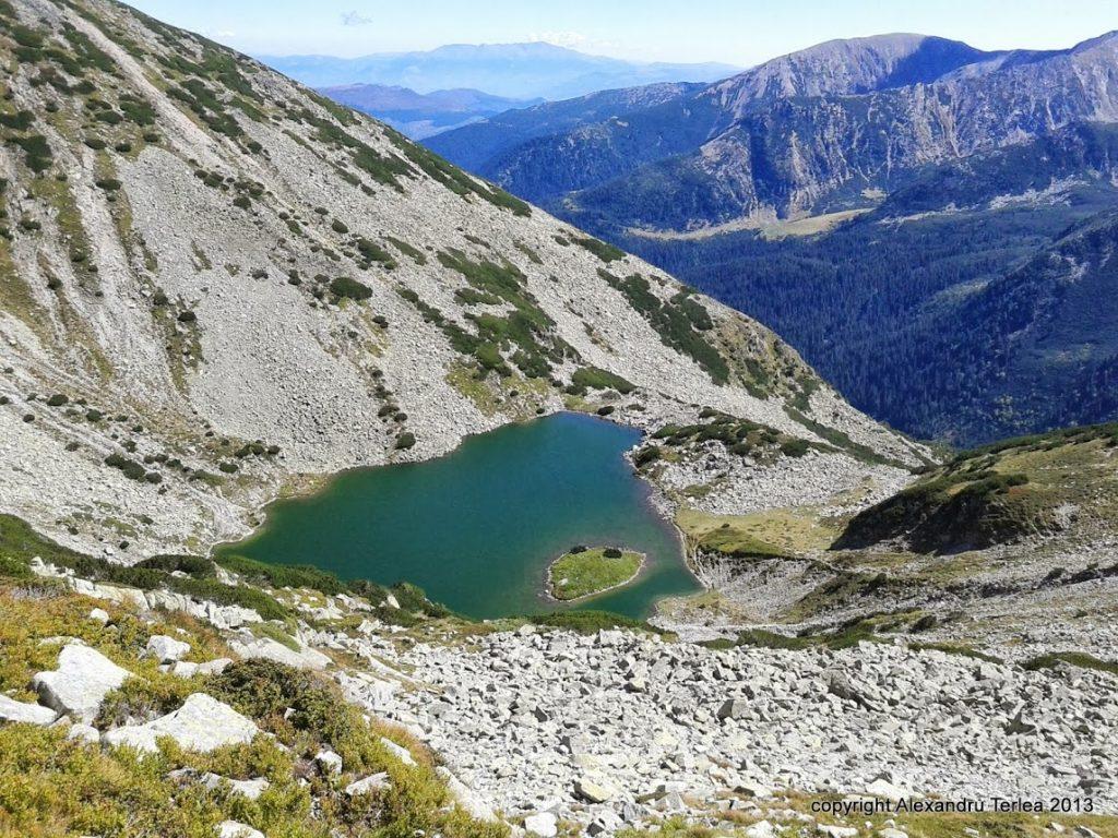 Tăul Țapului lacuri glaciare retezat